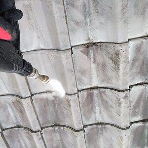 屋根塗り替え 足場